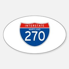 Interstate 270 - MD Oval Decal
