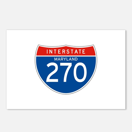 Interstate 270 - MD Postcards (Package of 8)