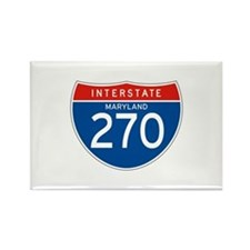 Interstate 270 - MD Rectangle Magnet