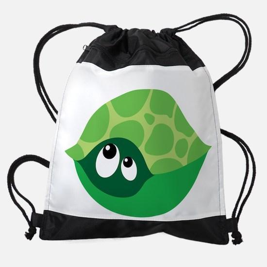 September Due Date Turtle Belly Pri Drawstring Bag