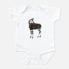 Okapi (Front only) Infant Bodysuit