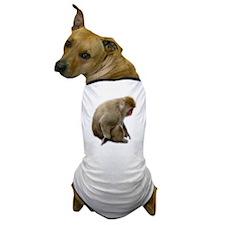 snow monkey Dog T-Shirt