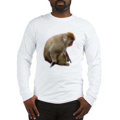 snow monkey Long Sleeve T-Shirt
