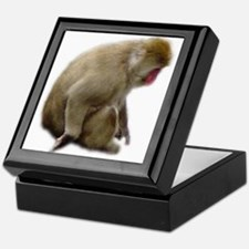 snow monkey Keepsake Box