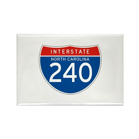 Interstate 240 - NC Rectangle Magnet (10 pack)