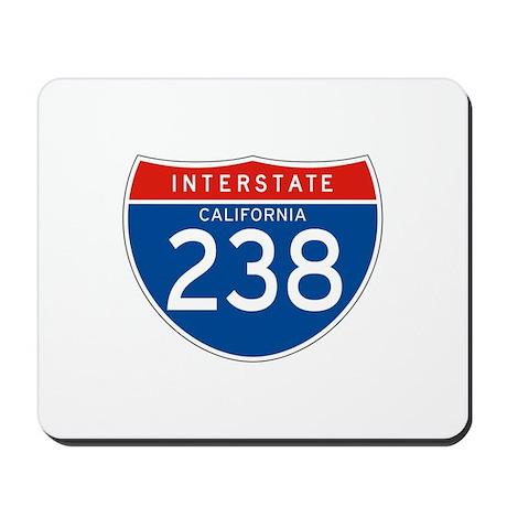 Interstate 238 - CA Mousepad