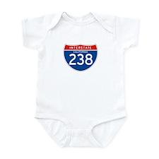 Interstate 238 - CA Infant Bodysuit