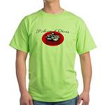 Poker Diva Green T-Shirt