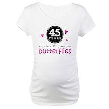45th Anniversary Butterflies Shirt