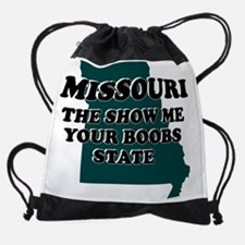 MISSOURI-BOOBS.jpg Drawstring Bag
