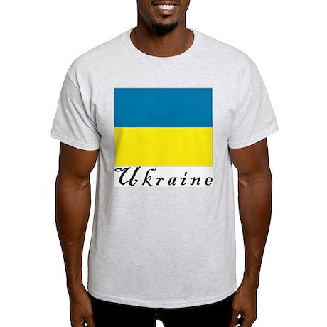 Ukraine Ash Grey T-Shirt