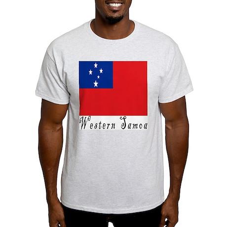 Western Samoa Ash Grey T-Shirt