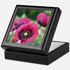 Monets Poppies Keepsake Box