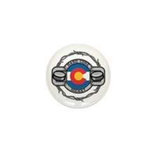 Colorado Hockey Mini Button