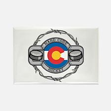 Colorado Hockey Rectangle Magnet