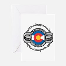 Colorado Hockey Greeting Cards (Pk of 10)