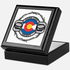 Colorado Hockey Keepsake Box