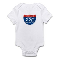 Interstate 220 - LA Infant Bodysuit