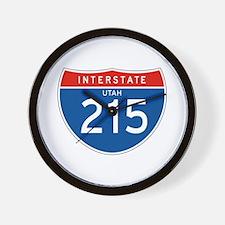 Interstate 215 - UT Wall Clock