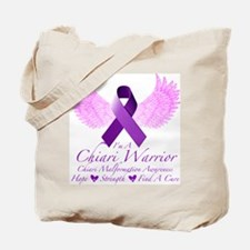 Chiari Warrior Tote Bag