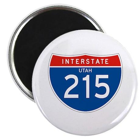 """Interstate 215 - UT 2.25"""" Magnet (100 pack)"""