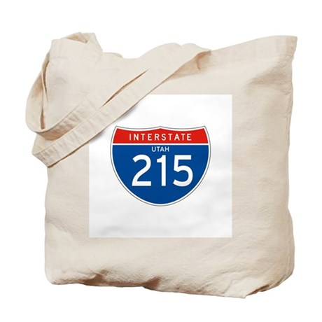 Interstate 215 - UT Tote Bag