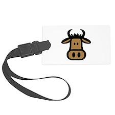 Bull head face Luggage Tag