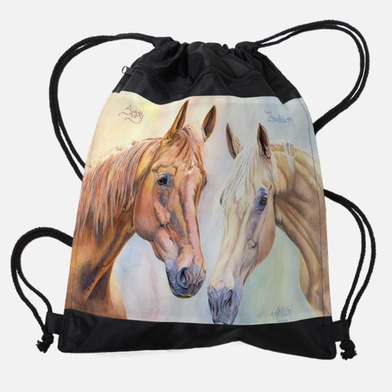 SissyandBreathless11x17.jpg Drawstring Bag