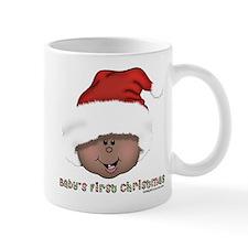 African American Baby's First Christmas Mug