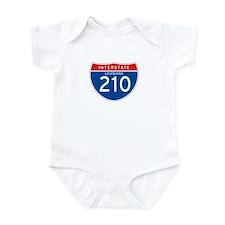 Interstate 210 - LA Infant Bodysuit