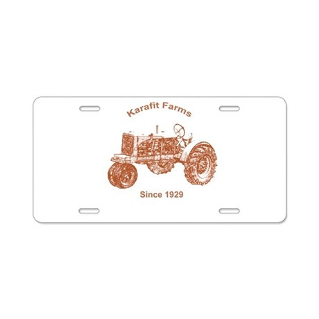 Karafit Farms License Plate