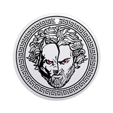 New Arlovski Logo White Ornament (Round)