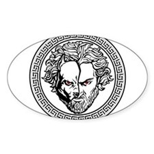 New Arlovski Logo White Sticker