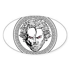 New Arlovski Logo White Decal