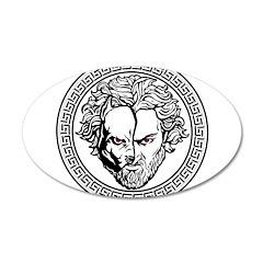 New Arlovski Logo White Wall Decal