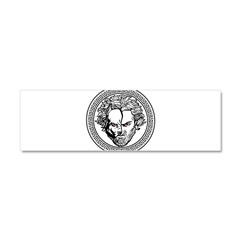New Arlovski Logo White Car Magnet 10 x 3