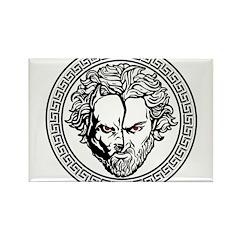 New Arlovski Logo White Rectangle Magnet (10 pack)