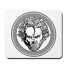 New Arlovski Logo White Mousepad