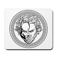 New Arlovski Logo White Mousepad