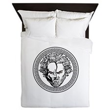 New Arlovski Logo White Queen Duvet