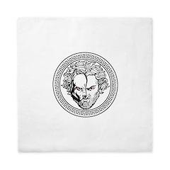 New Arlovski Logo White Queen Duvet