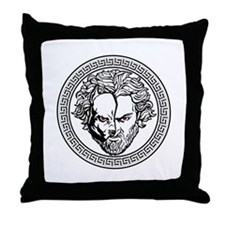 New Arlovski Logo White Throw Pillow