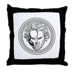 New Arlovski Logo White Throw Pillow