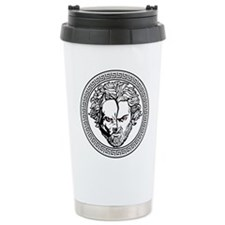 New Arlovski Logo White Travel Mug