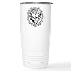New Arlovski Logo White Travel Mug