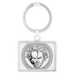 New Arlovski Logo White Keychains