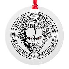 New Arlovski Logo White Ornament