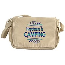 Happiness is Camping Messenger Bag
