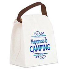 Happiness is Camping Canvas Lunch Bag