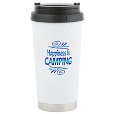 Happiness is Camping Travel Mug